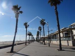 Paseo marítimo Playa Valencia