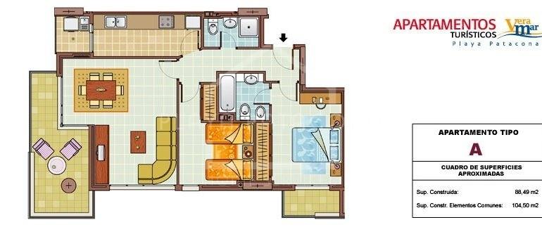 apartamento patacona veramar