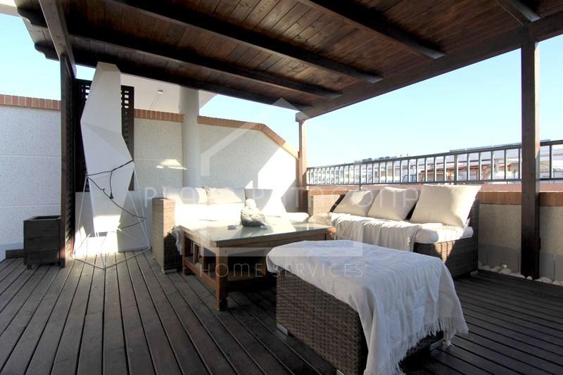 Ático en La Patacona residencial nuevo con piscina
