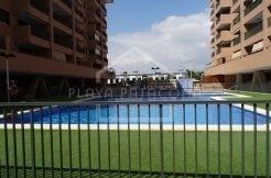apartamento una habitación Patacona con piscina