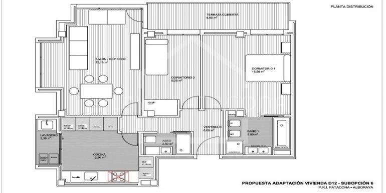 plano-apartamento-playa-patacona