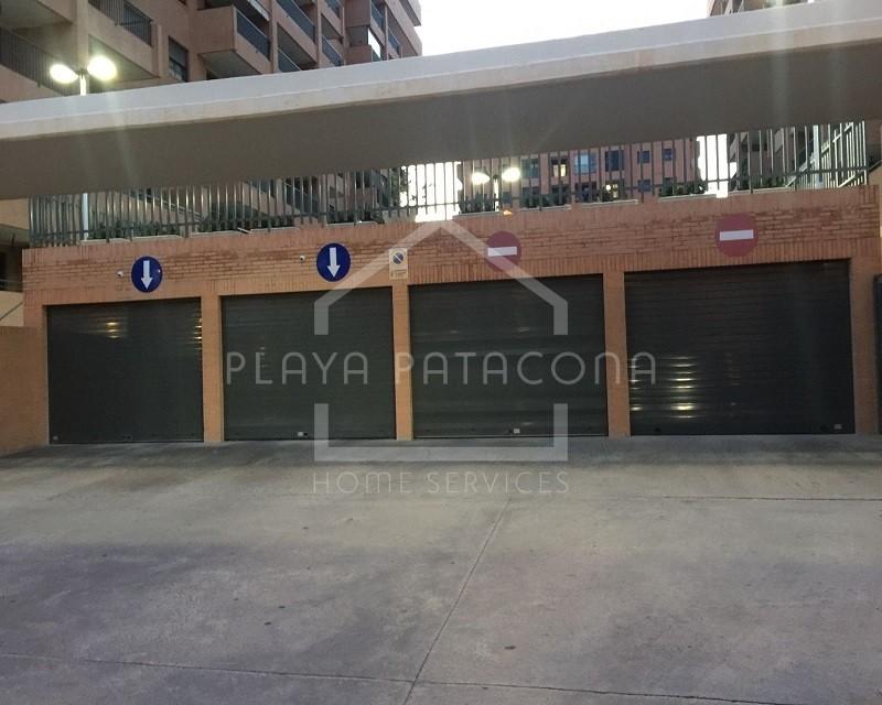 Plaza garaje Patacona Residencial Cormoran 100m del mar
