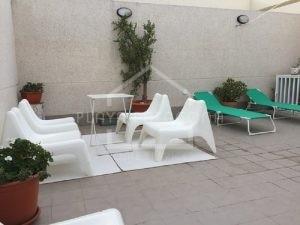 terraza de 60m2