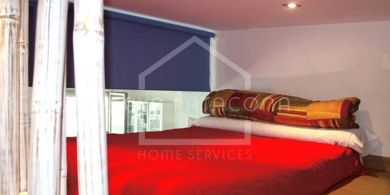 habitación_altillo_vivienda_frontal_al_mar_Playa_Patacona
