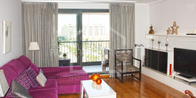 salón-vivienda-3-habitaciones-Residencial-piscina-Patacona