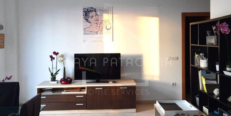 salón en Apartamento exclusivo con vistas frente al mar en Patacona