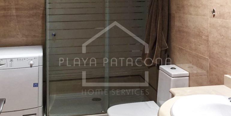 baño en Apartamento exclusivo con vistas frente al mar en Patacona