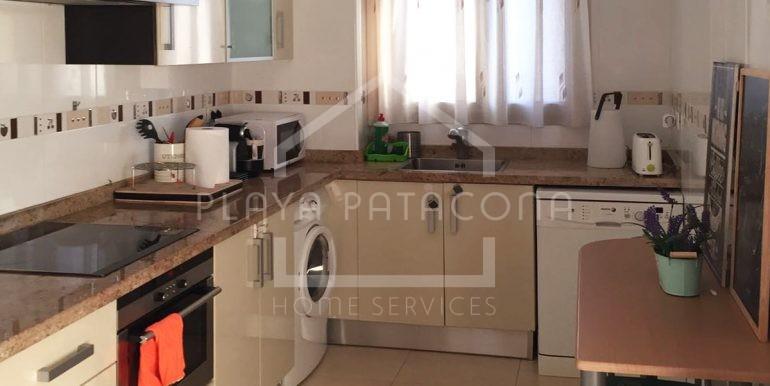cocina en Apartamento exclusivo con vistas frente al mar en Patacona