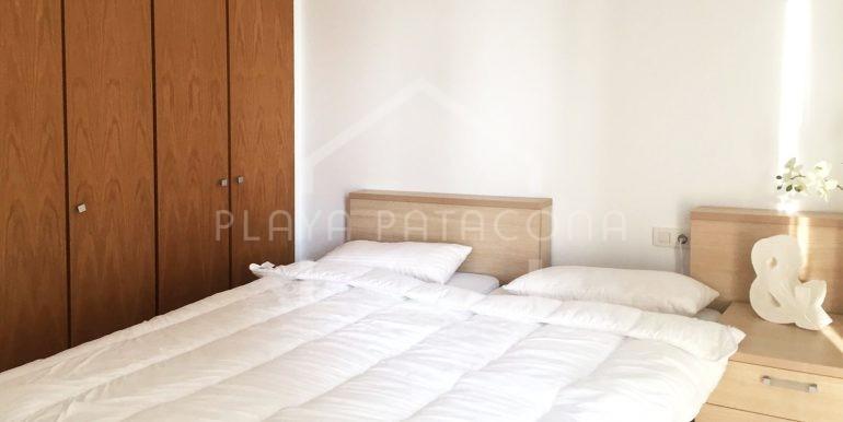 dormitorio en Apartamento exclusivo con vistas frente al mar en Patacona