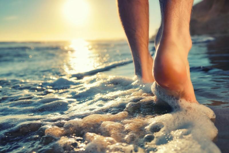 tiempo libre en vacaciones para pasear por dentro del mar