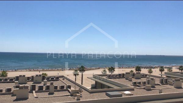 Ático dúplex primera línea Playa Patacona Alboraya Valencia