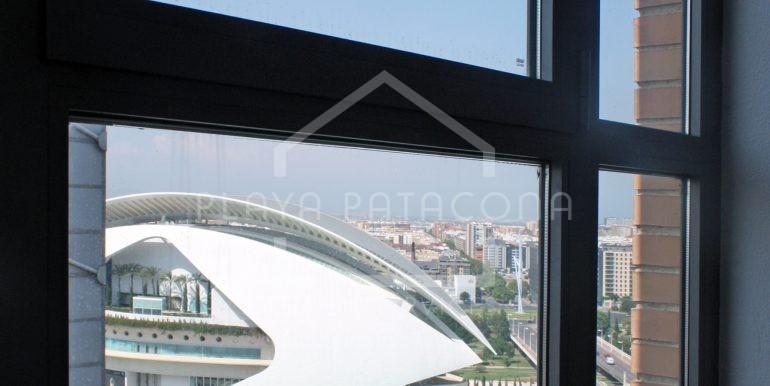 Ático Ciudad de las Artes y las Ciencias Valencia