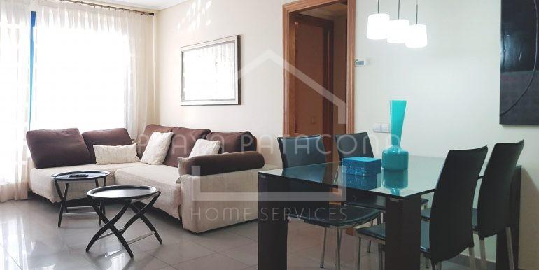 Apartamento alquiler temporada con vistas al mar en Patacona