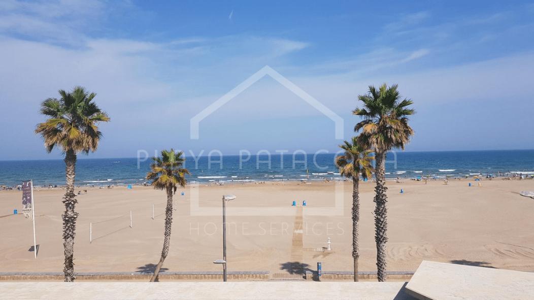 Apartamento turístico Playa Patacona primera línea 6 pax